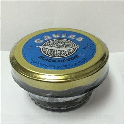 4 oz / 113 gr Paddlefish Black Caviar