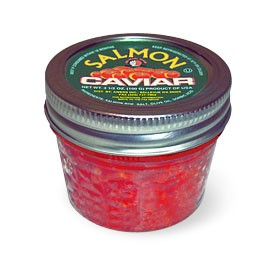 3.5 oz / 100 gr Red Caviar Alyaska