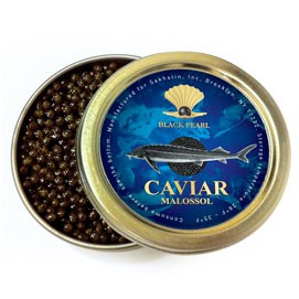 Russian sturgeon Black caviar Premium Quality